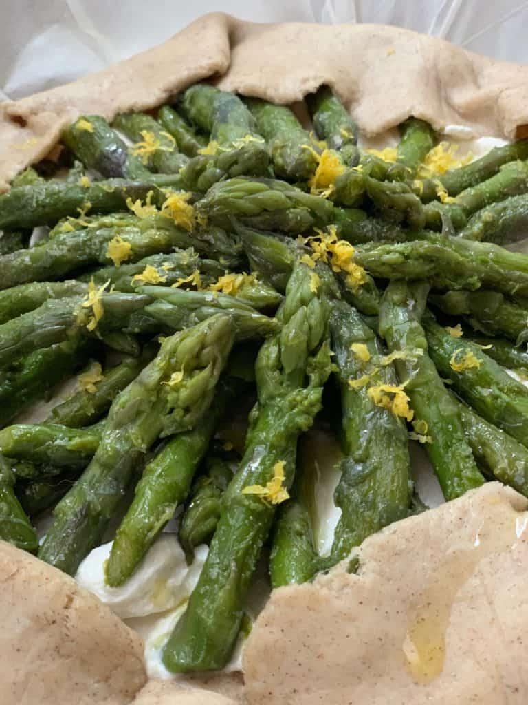galette agli asparagi